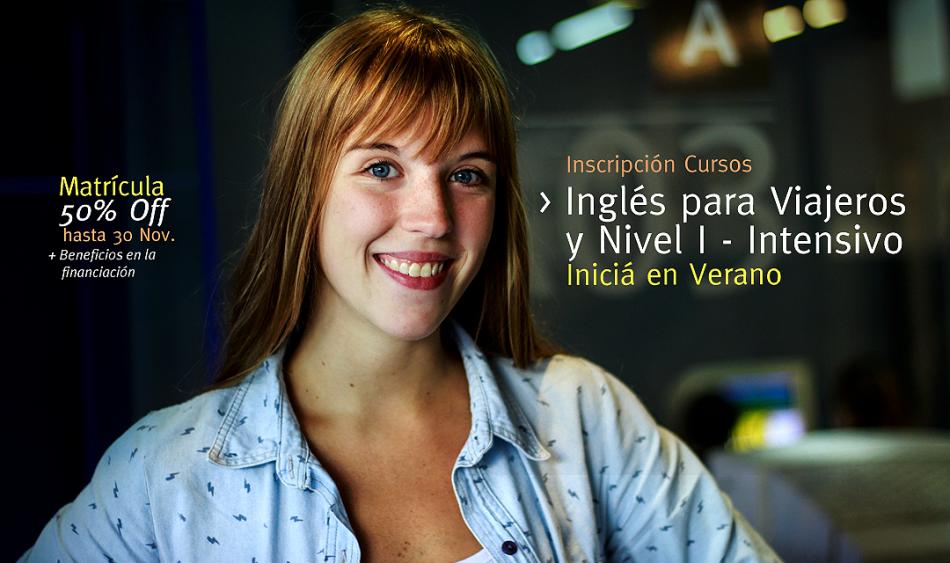 Inglés Intensivo e Inglés Viajeros ¡Empezá en enero!